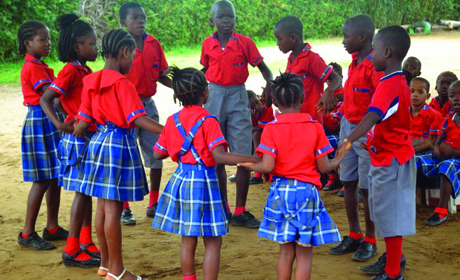 Four principles of practice govern our work with children in Liberia